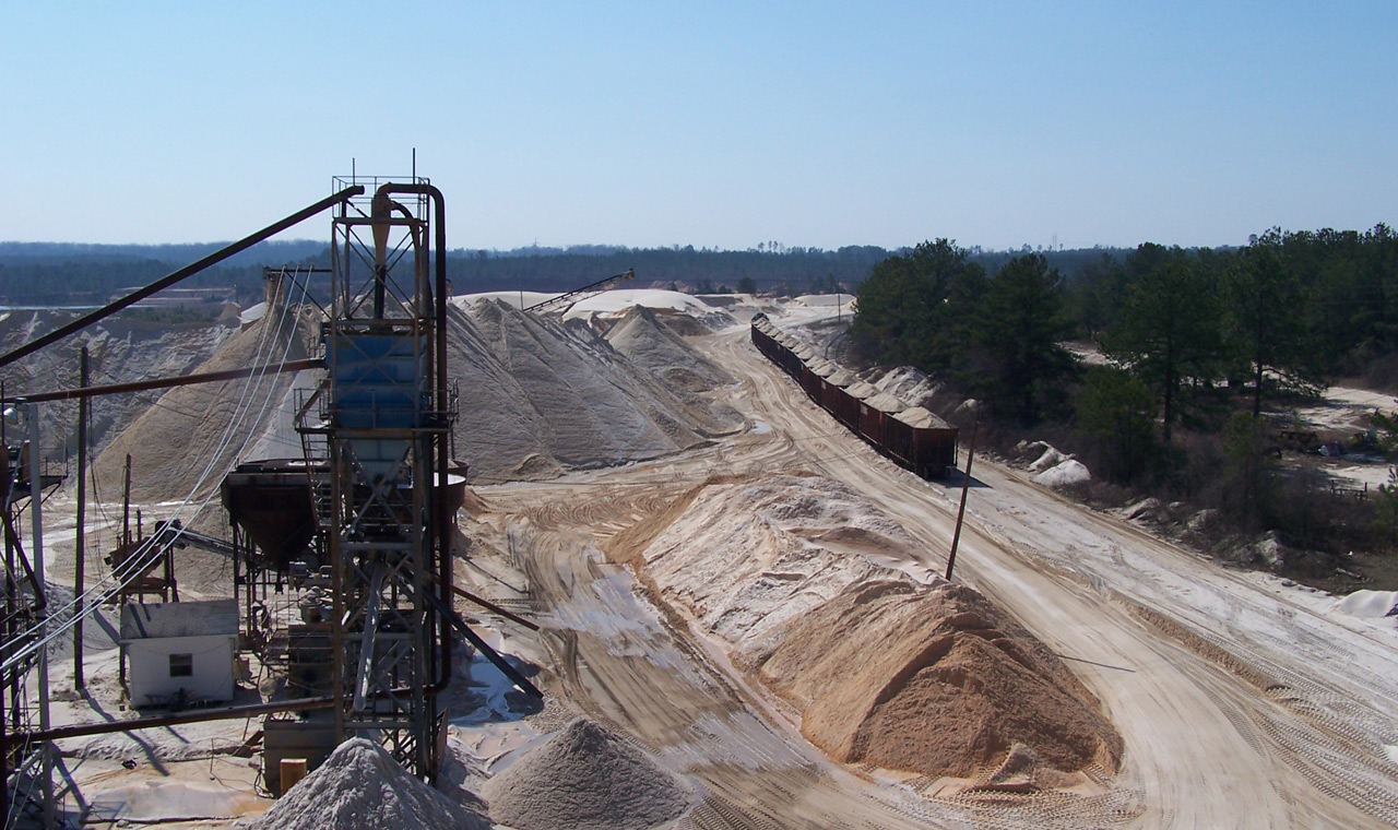 The premier manufacturer of sand in Georgia.